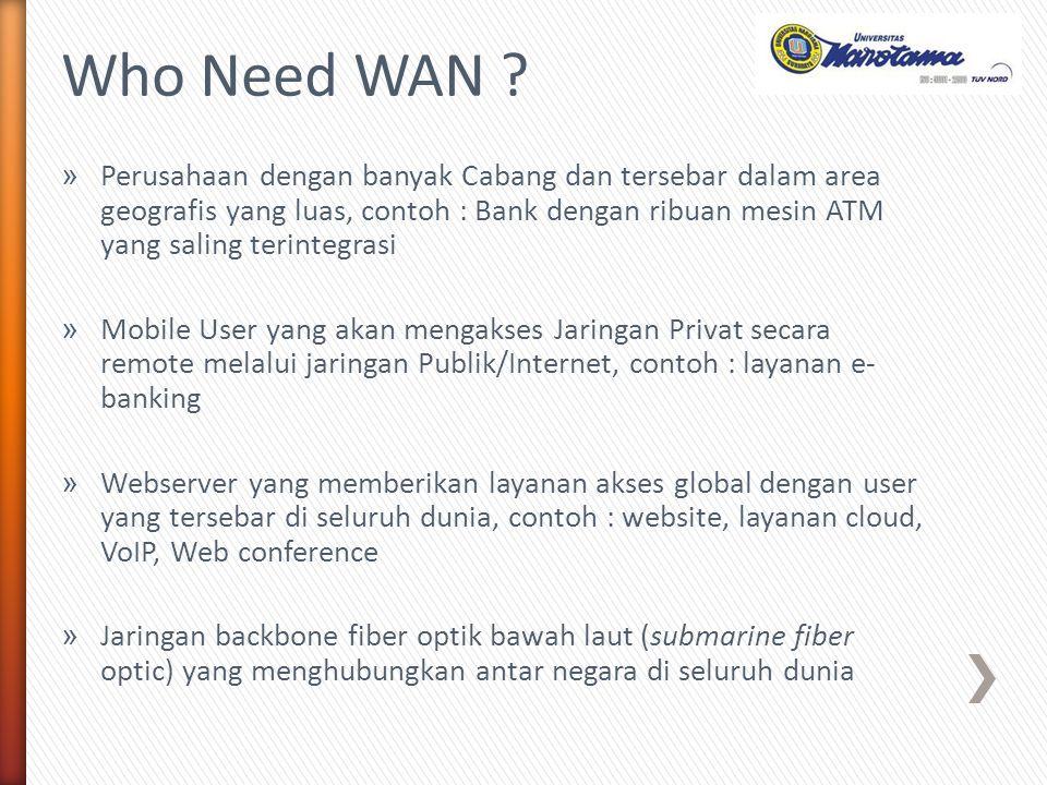 4.ADSL (Asymmetric Digital Subscriber Line) Bandwidth download lebih besar dari bandwidth upload, selain ADSL masih banyak jenis lain seperti HDSL, SDSL, VDSL dsb 5.Dikarenakan media akses menggunakan wireline jenis tembaga/Cooper maka kualitas sinyal dipengaruhi jarak, semakin jauh jarak Pelanggan ke CO (Central Office) ISP maka kualitas sinyal akan menurun Leased Line/ Copper Telephone Cable xDSL