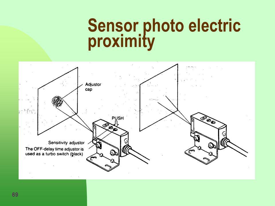 69 Sensor photo electric proximity