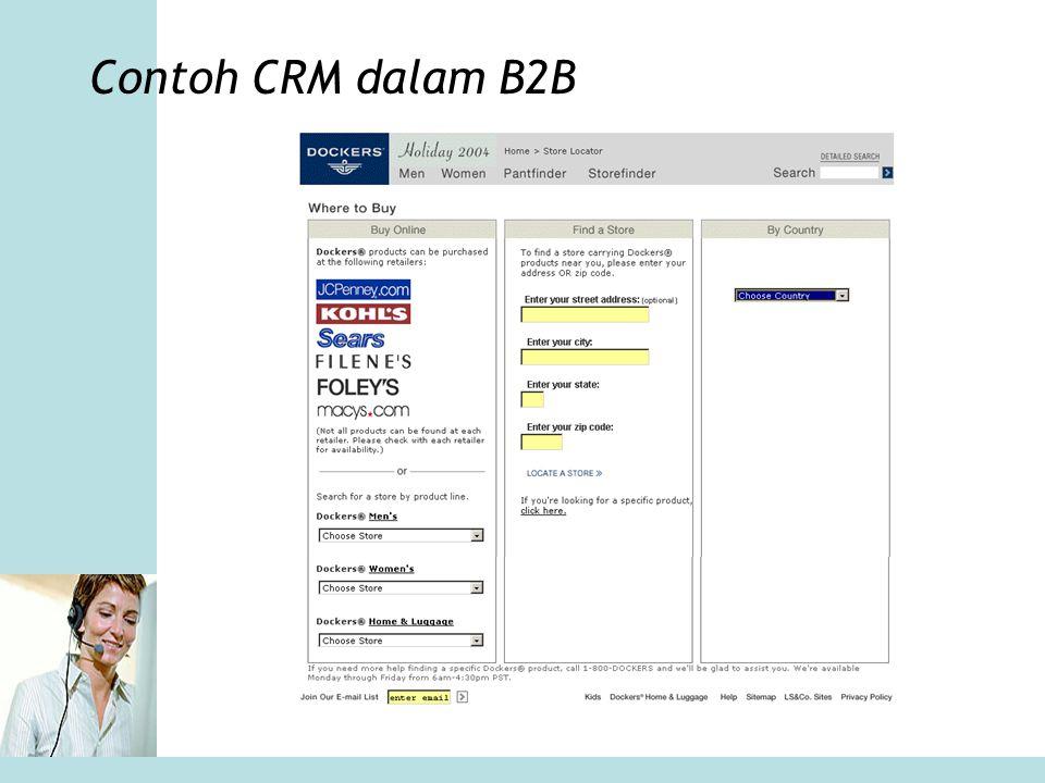 Contoh CRM dalam B2B