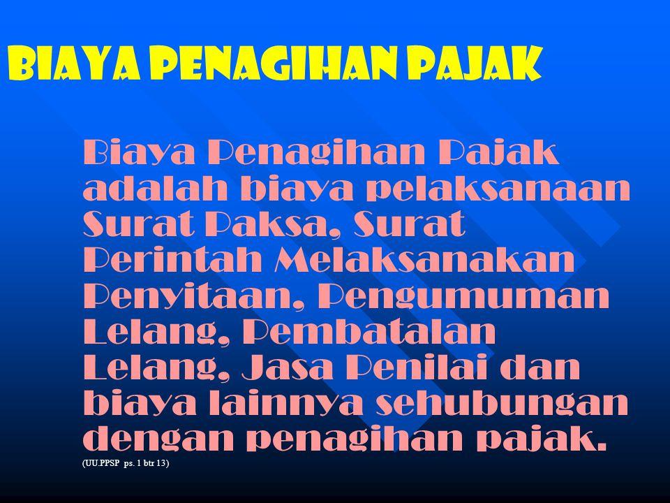 TATACARA PENYAMPAIAN SURAT PAKSA (lanj.6) (12)Pengajuan keberatan oleh Wajib Pajak tidak mengakibatkan penundaan pelaksanaan Surat Paksa n Catatan: menurut UU.KUP 2007.
