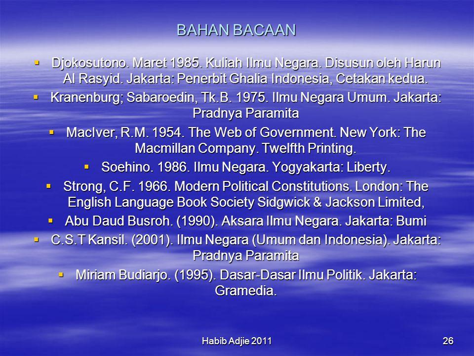 Habib Adjie 201126 BAHAN BACAAN  Djokosutono.Maret 1985.