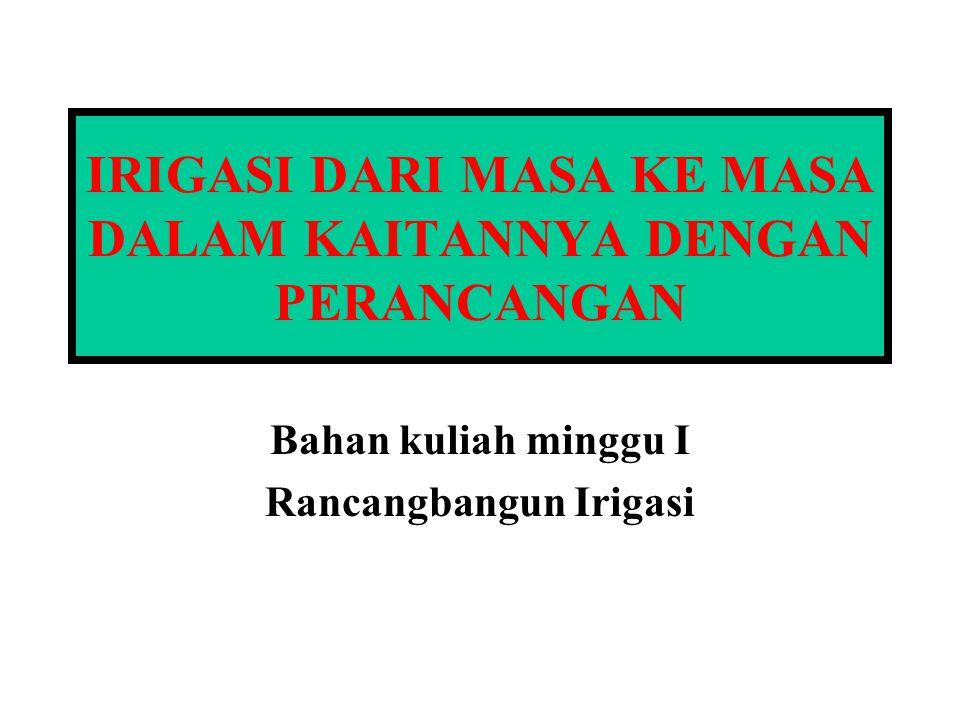 PENGANTAR (1) INDONESIA TERLETAK DI WILAYAH MUSON TROPIS  KEBERADAAN AIR SANGAT KHAS (I) HUJAN BANYAK JATUH PADA BULAN- BULAN BASAH YANG BERLANGSUNG DALAM BEBERAPA BULAN.