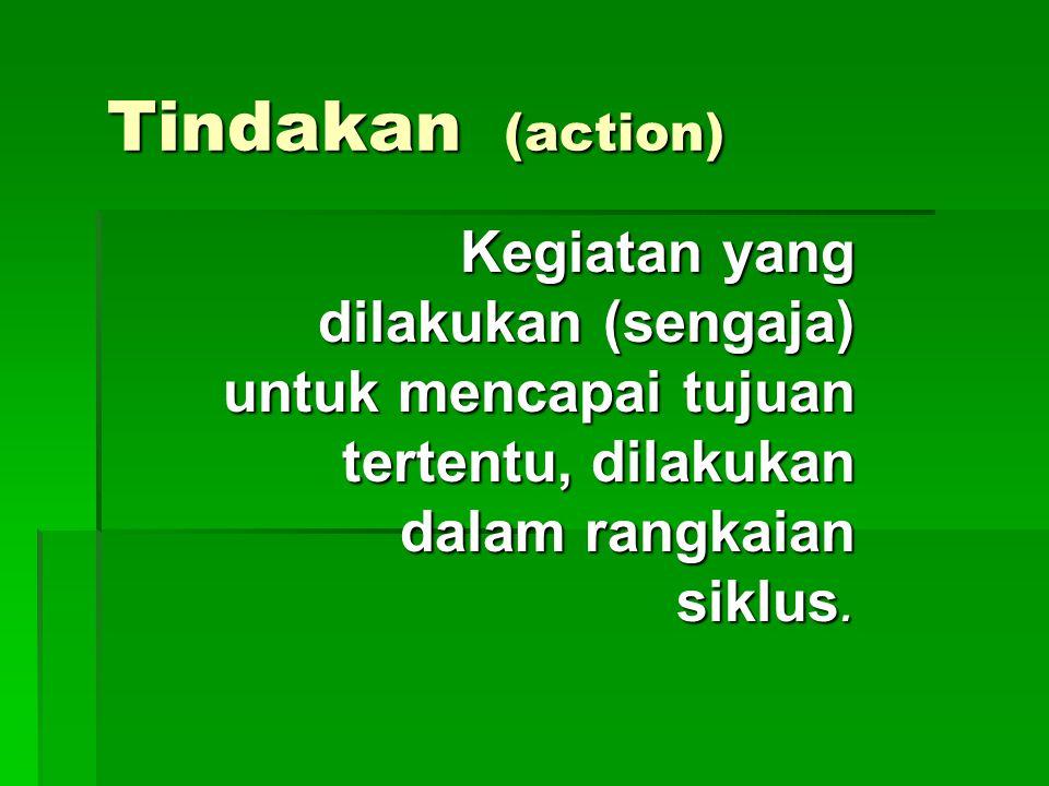 PTK  Suatu penelitian yang menunjuk pada suatu kegiatan/tindakan