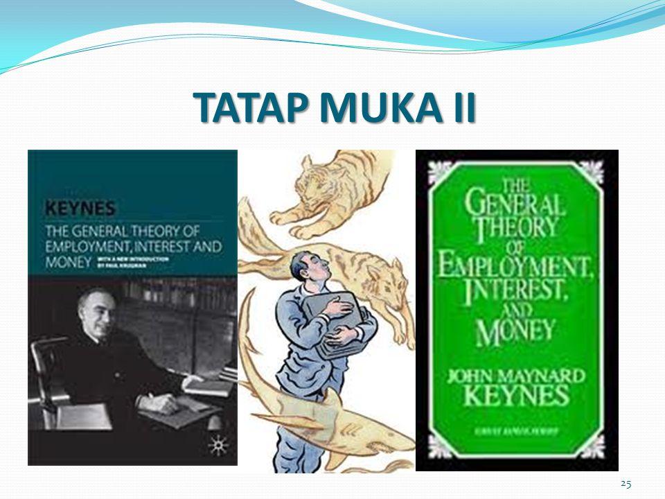 TATAP MUKA II 25