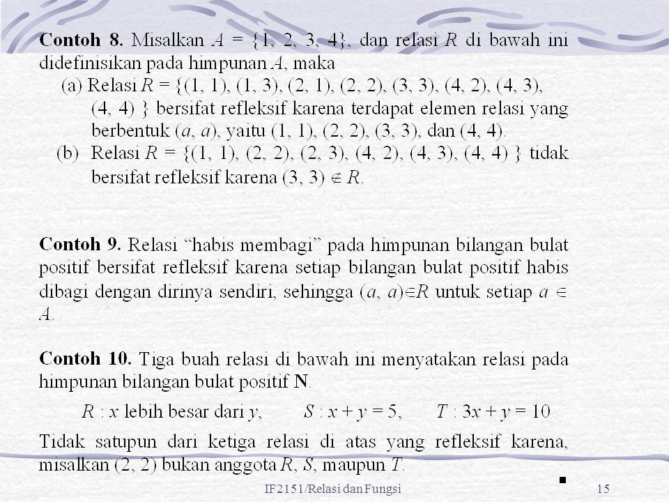 IF2151/Relasi dan Fungsi15