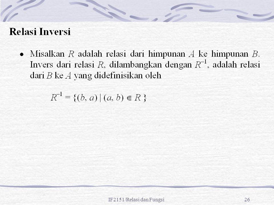 IF2151/Relasi dan Fungsi26