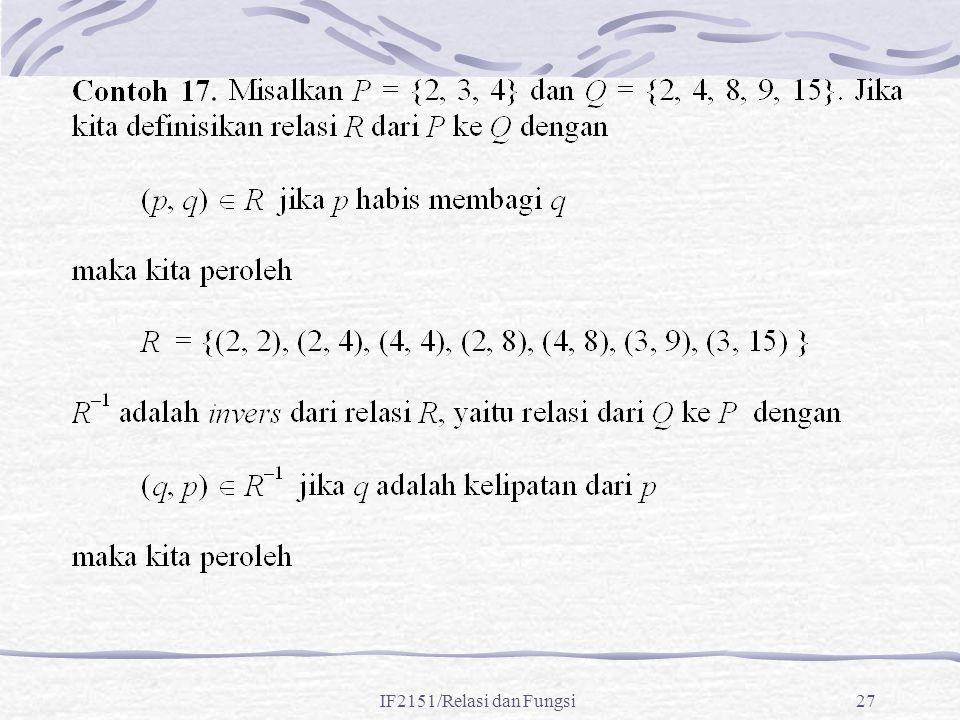 IF2151/Relasi dan Fungsi27