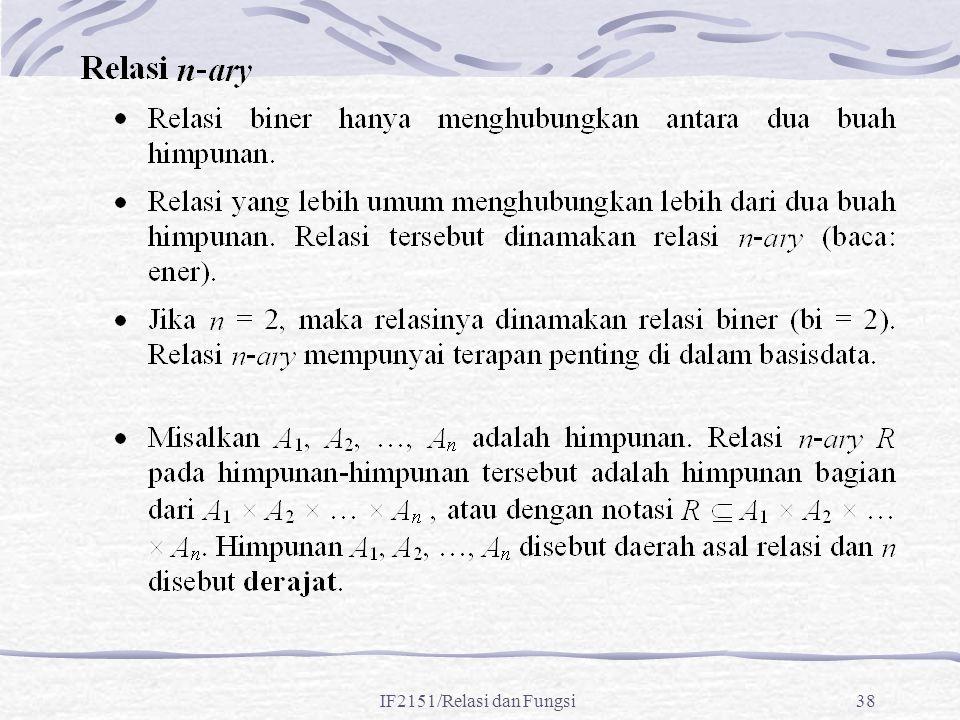 IF2151/Relasi dan Fungsi38