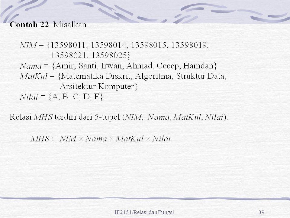 IF2151/Relasi dan Fungsi39