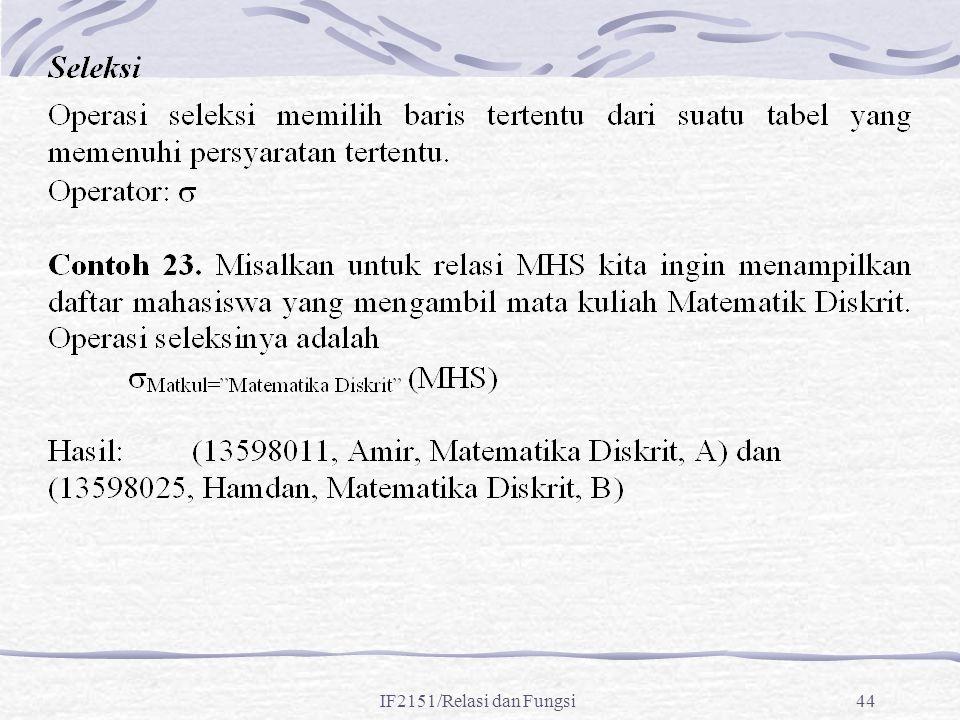 IF2151/Relasi dan Fungsi44