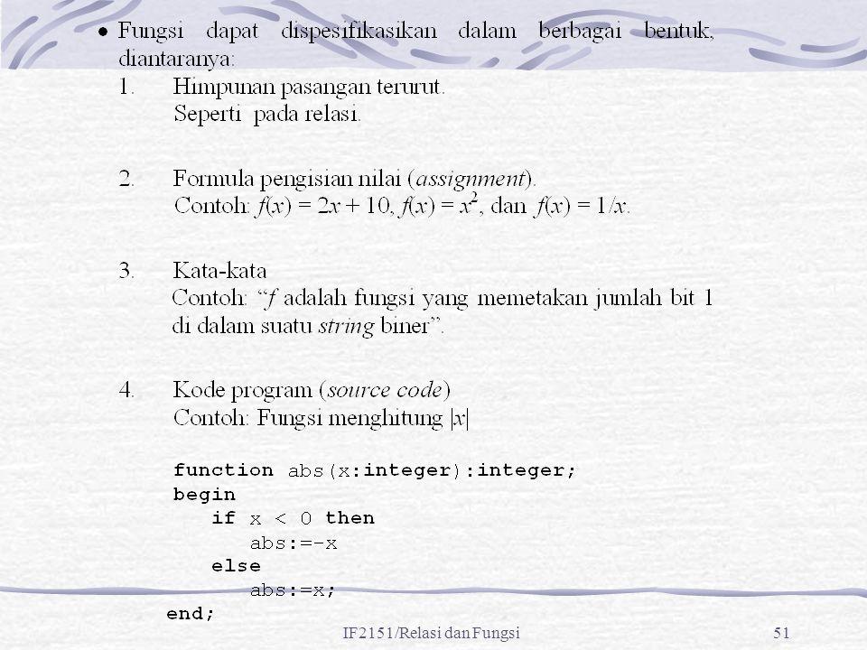 IF2151/Relasi dan Fungsi51
