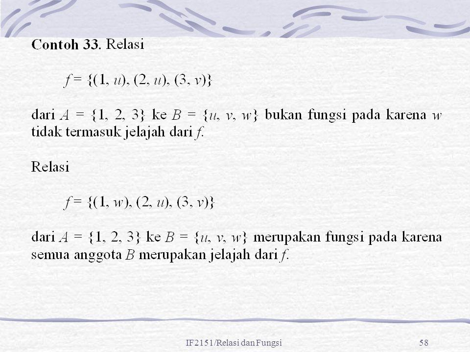 IF2151/Relasi dan Fungsi58