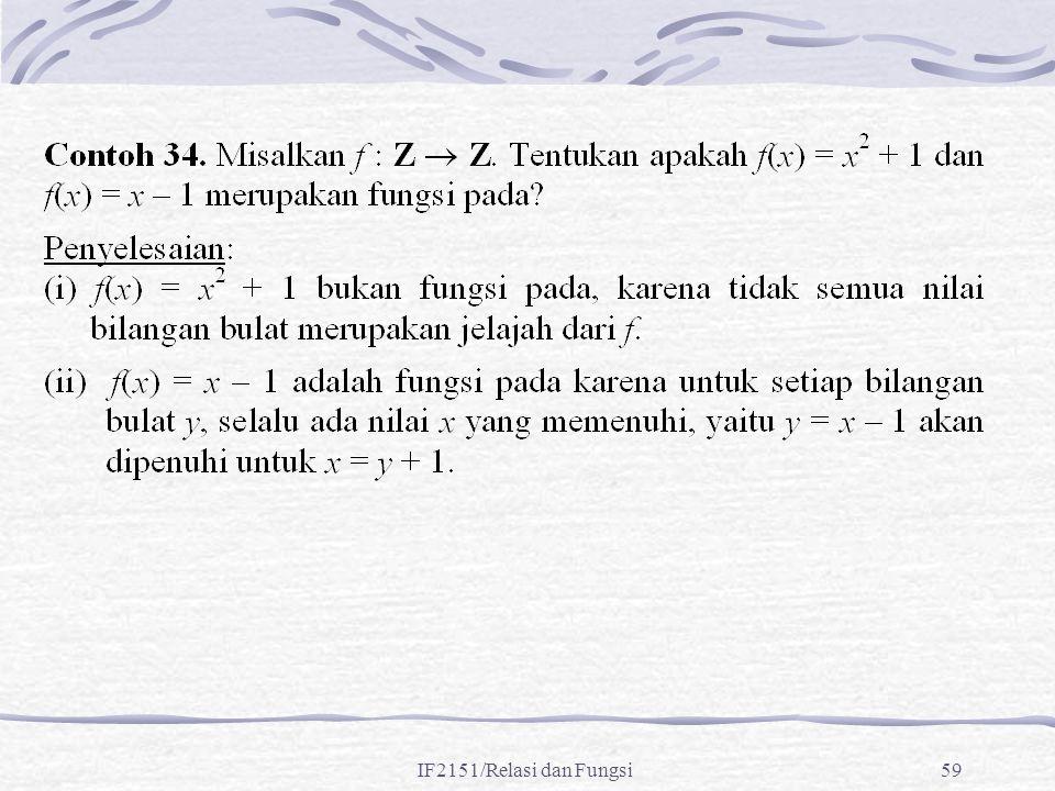 IF2151/Relasi dan Fungsi59