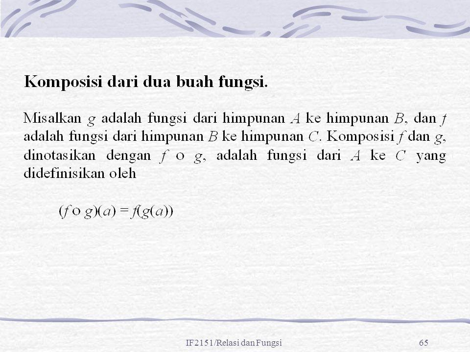 IF2151/Relasi dan Fungsi65