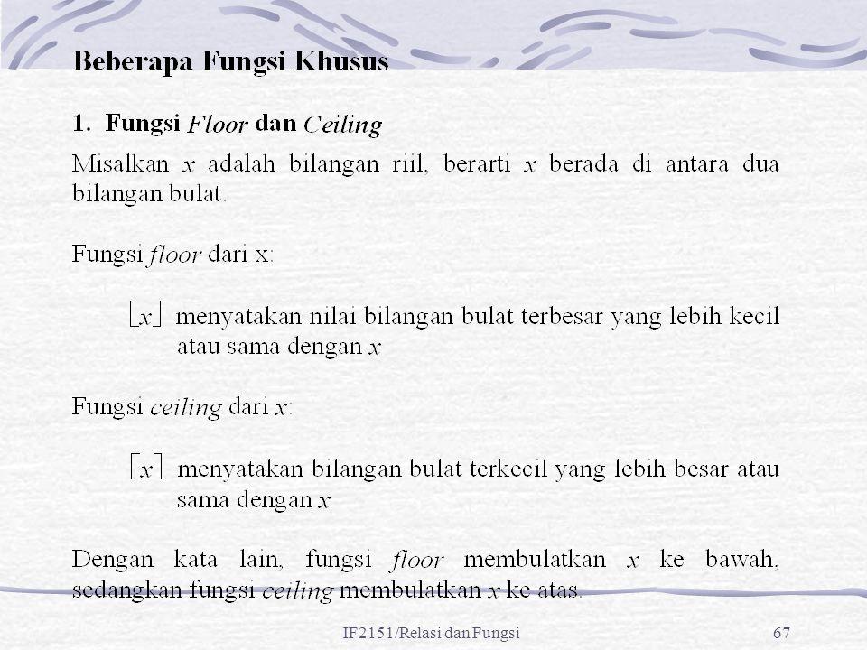 IF2151/Relasi dan Fungsi67