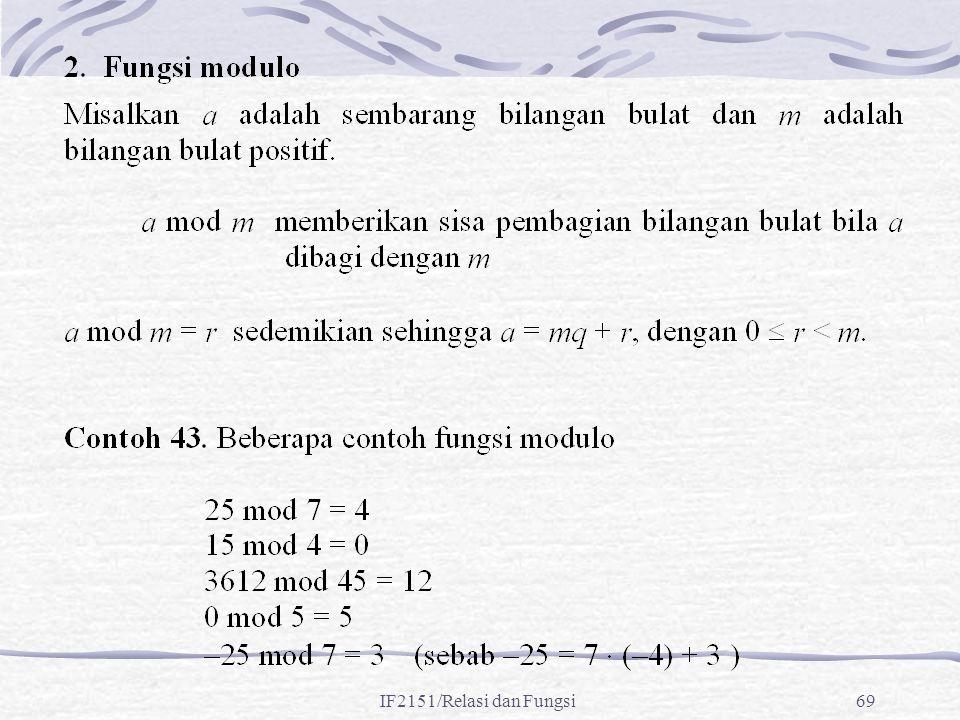 IF2151/Relasi dan Fungsi69