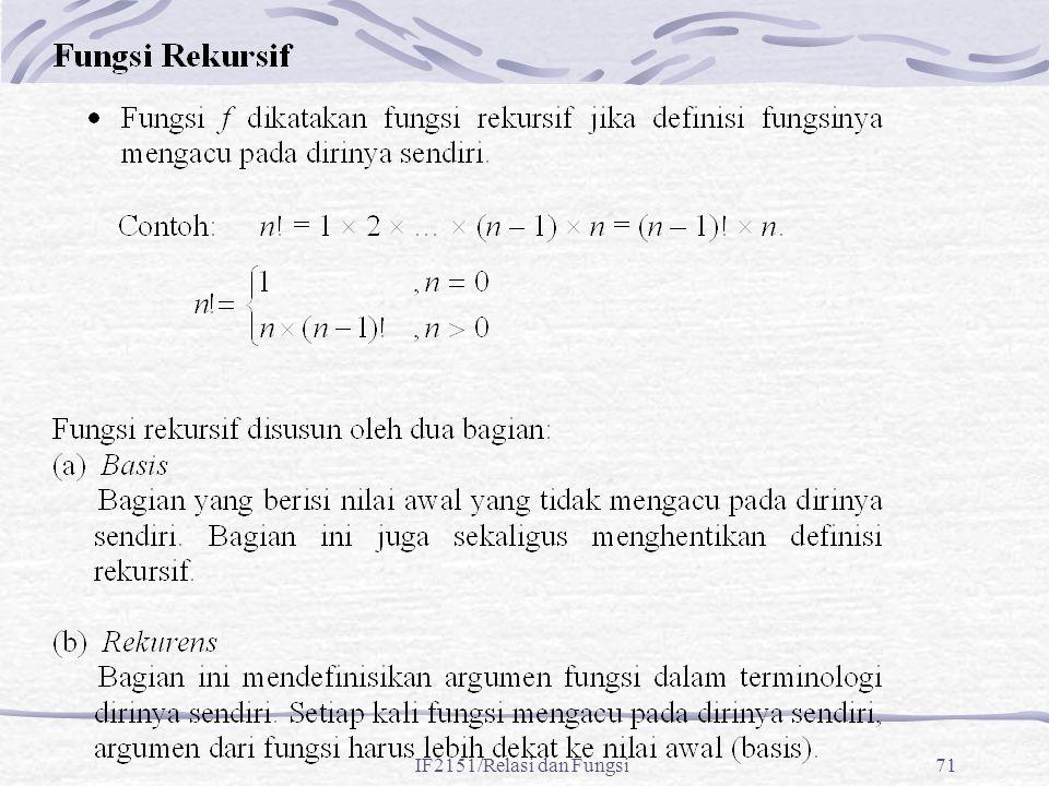 IF2151/Relasi dan Fungsi71