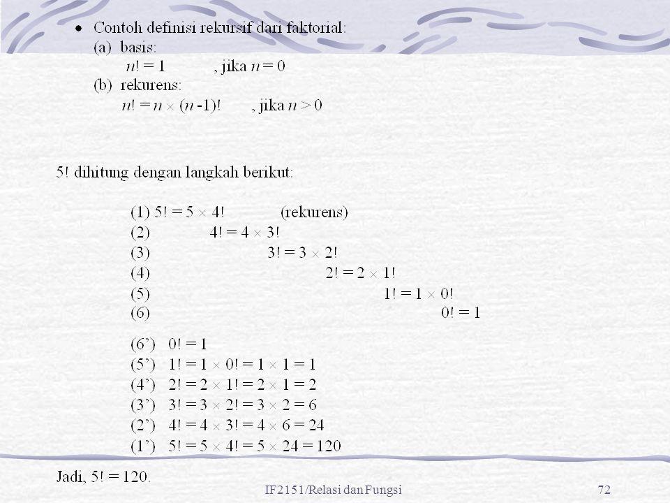 IF2151/Relasi dan Fungsi72