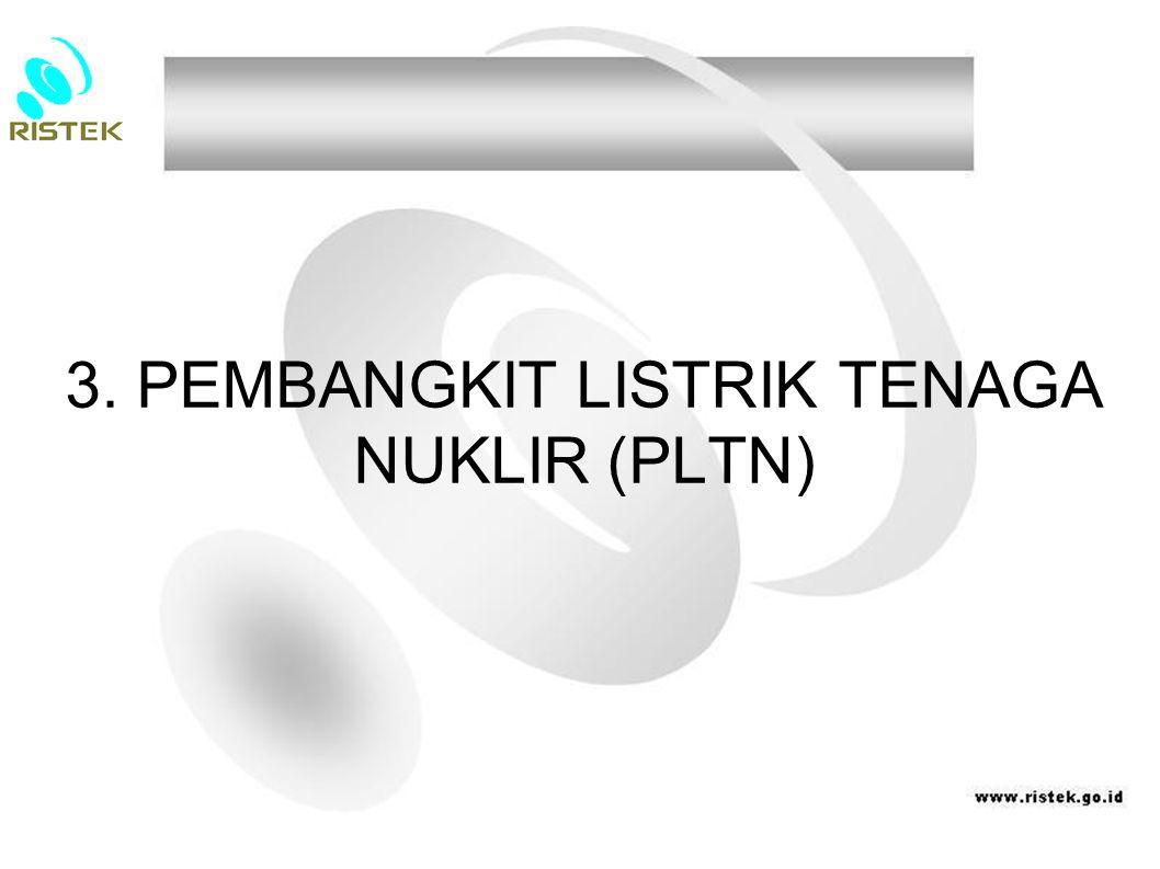 3. PEMBANGKIT LISTRIK TENAGA NUKLIR (PLTN)