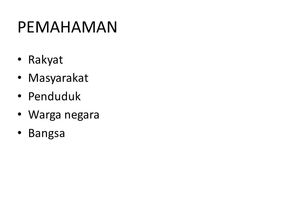 SILA 4 DAN SILA 5 Wawasan kebangsaan Indonesia berakar pada asas kedaulatan yang berada di tangan rakyat.