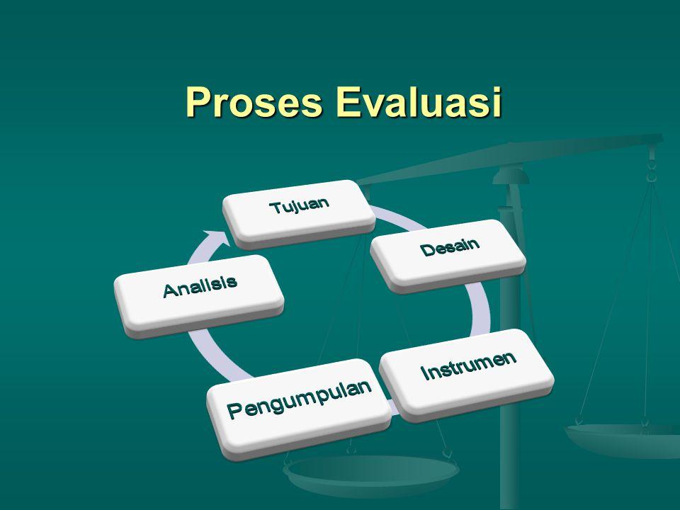 Proses Evaluasi
