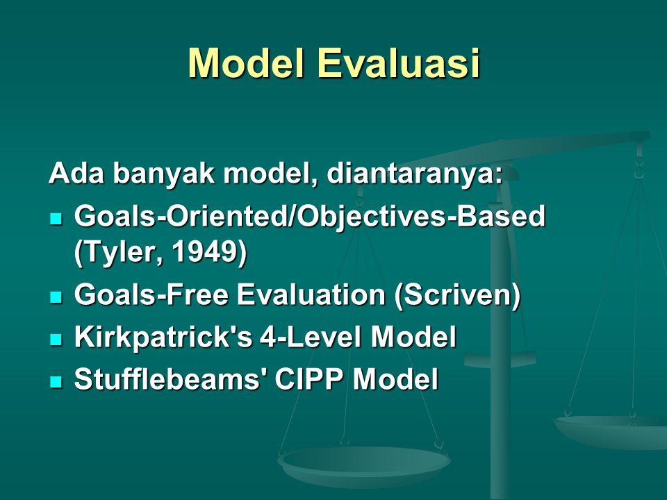 Urgensi Evaluasi Dalam menyambut Dies UNY ke-48, Suyanto (KR, 21 Mei 2012) : ...tiga hal penting: 1) berencana dg berorientasi pada mutu lulusan; 2) mengimplementasikan secara cerdas utk mencapai indikator sukses yg terukur; dan 3) mengevaluasi ttg apa yg telah dilakukan secara valid dan handal sbg feedback loop menuju learning organization...