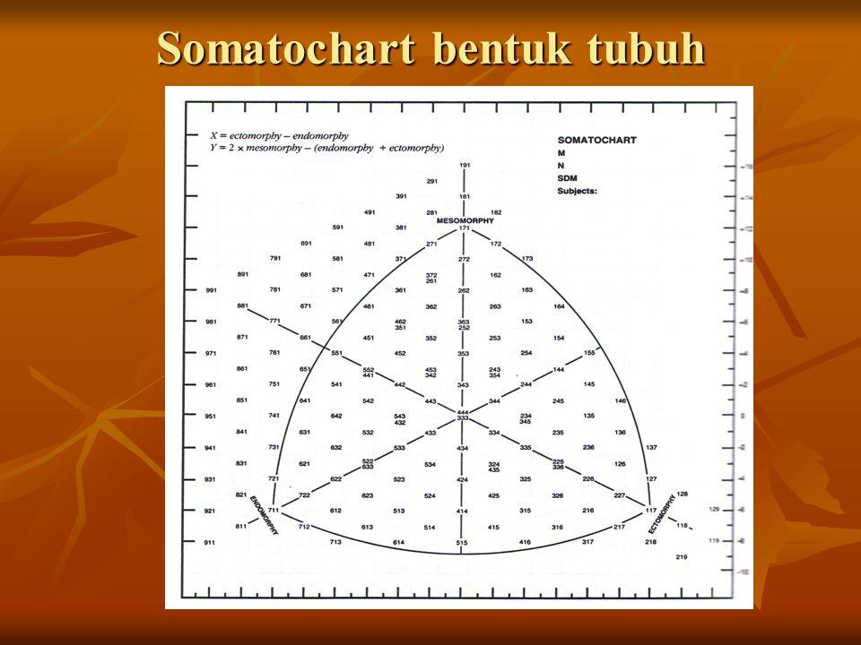 Somatochart bentuk tubuh