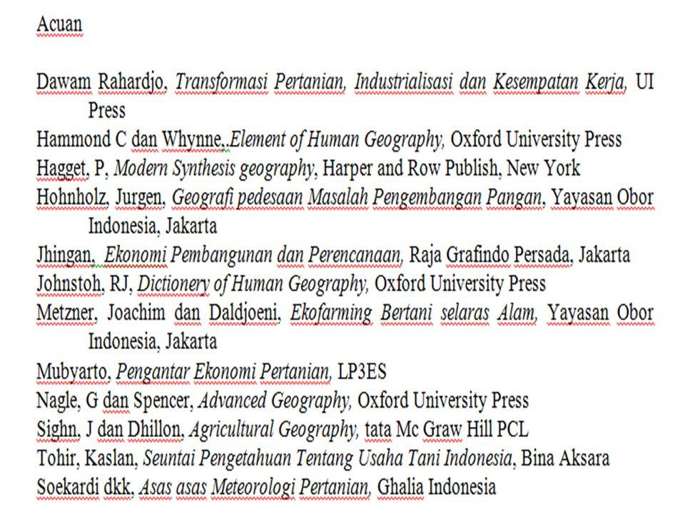 Geografi (Seminar Geografi di Semarang tahun 1988) Mengkaji persamaan dan perbedaan fenomena geosfer dengan sudut pandang keruangan, kelingkungan dan kewilayahan