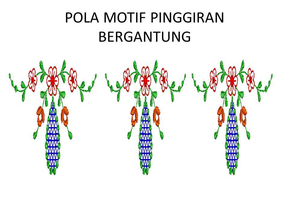 POLA MOTIF PINGGIRAN BERGANTUNG