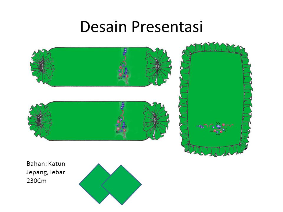 Desain Presentasi Bahan: Katun Jepang, lebar 230Cm