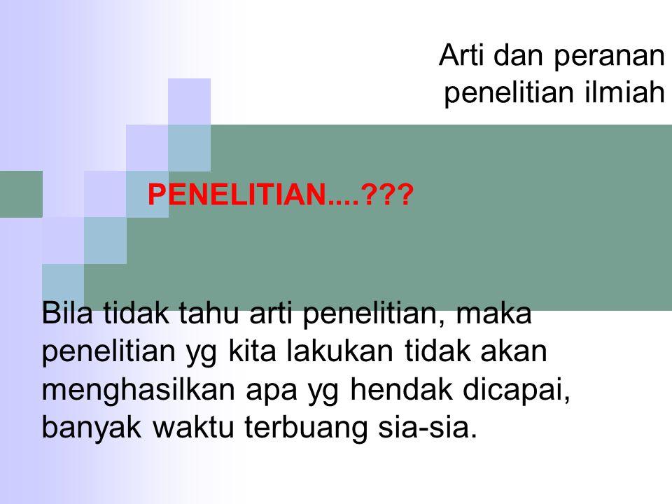 5 BAHASAN DALAM PENELITIAN ILMIAH I.PENDAHULUAN II.