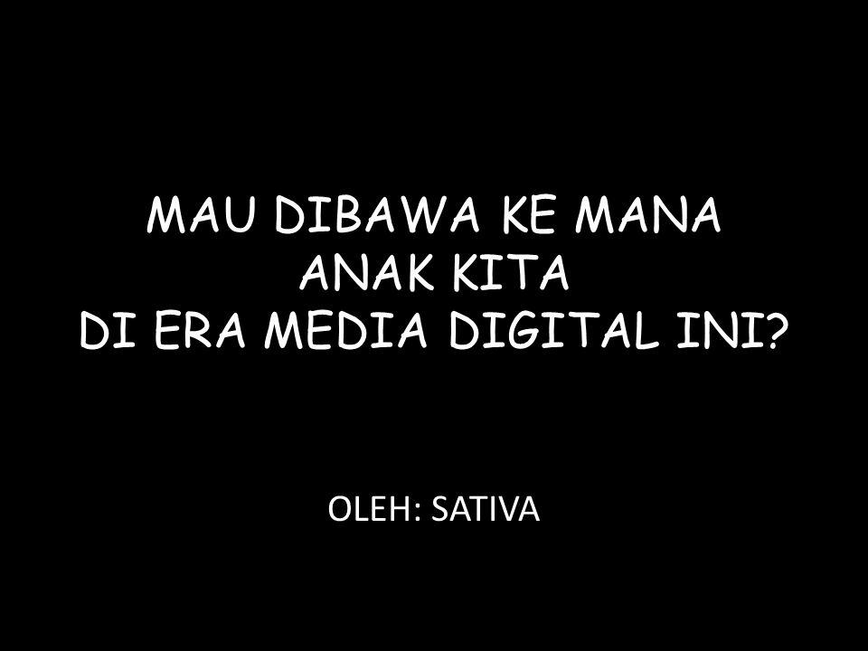 JENIS MEDIA DIGITAL POPULER SAAT INI TELEVISI HP KOMPUTER & INTERNET