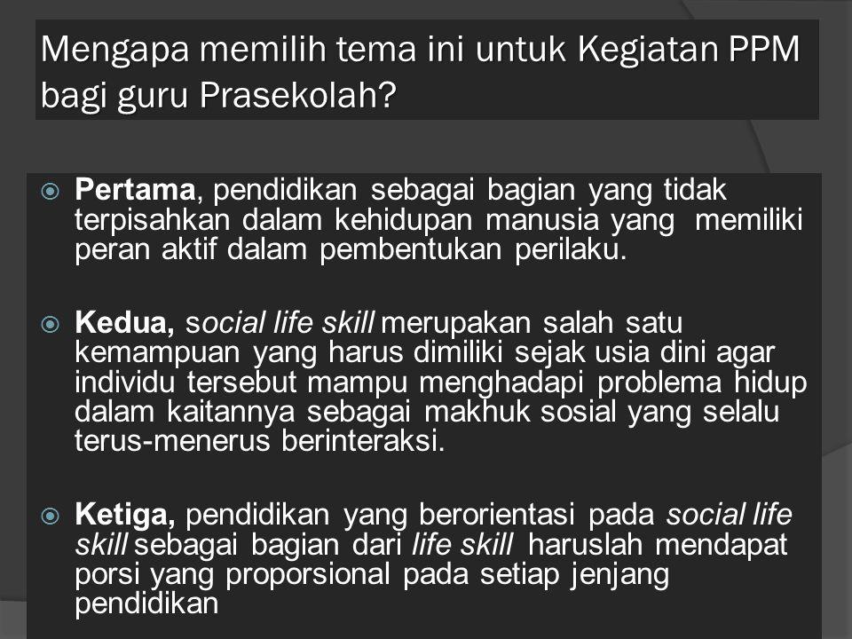 Aspek- aspek Social Life Skill Empati; a.penuh pengertian b.