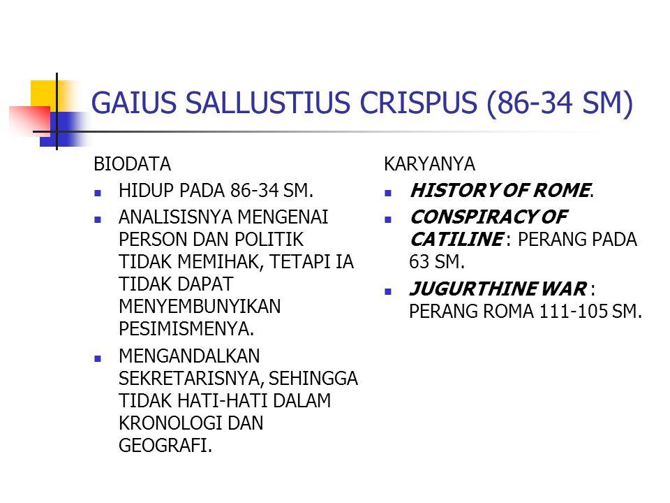 TITUS LIVIUS (64 SM-12 M)