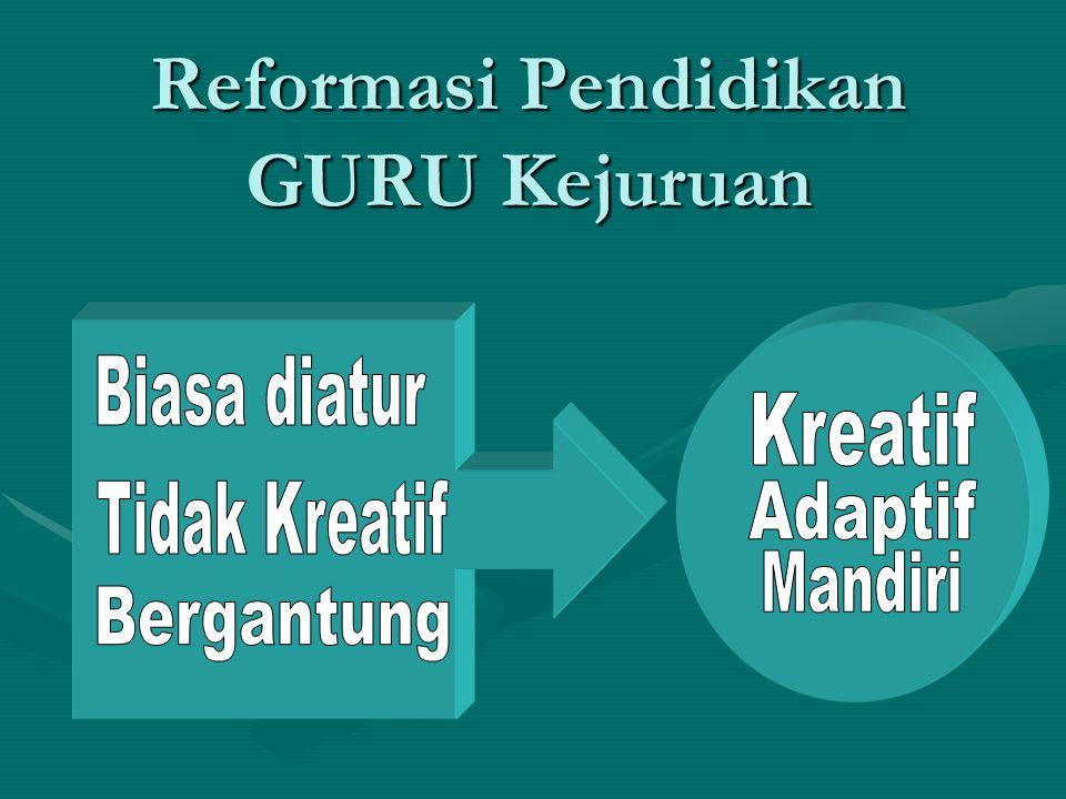 Reformasi Pendidikan GURU Kejuruan