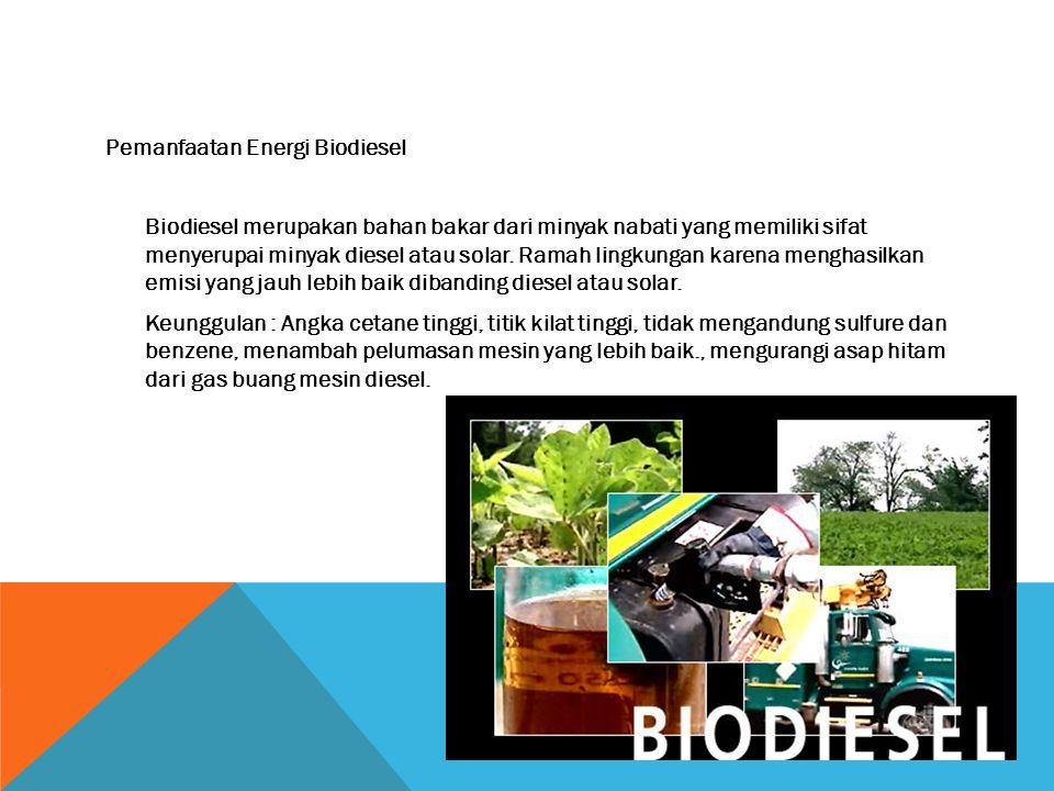 Pemanfaatan Energi Biogas Biogas adalah gas yang dihasilkan oleh aktivitas anaerobik atau fermentasi dari bahan-bahan organik, termasuk diantaranya ko