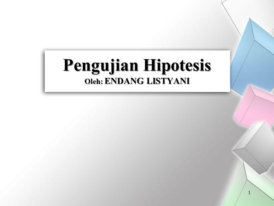 Pengujian Hipotesis bagi Ragam Populasi 32