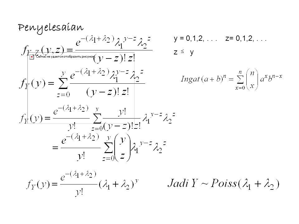 y = 0,1,2,... z= 0,1,2,... z y