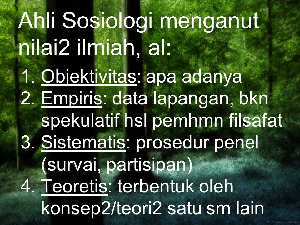 Ahli Sosiologi hrs memiliki kesadaran sosiologis, al kesadaran : 1.Debunking: menolak sgl kepalsuan, membuka topeng 2.