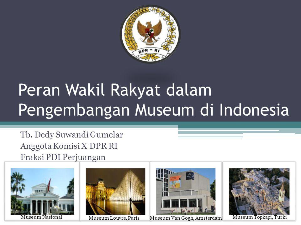 Peran Wakil Rakyat dalam Pengembangan Museum di Indonesia Tb.