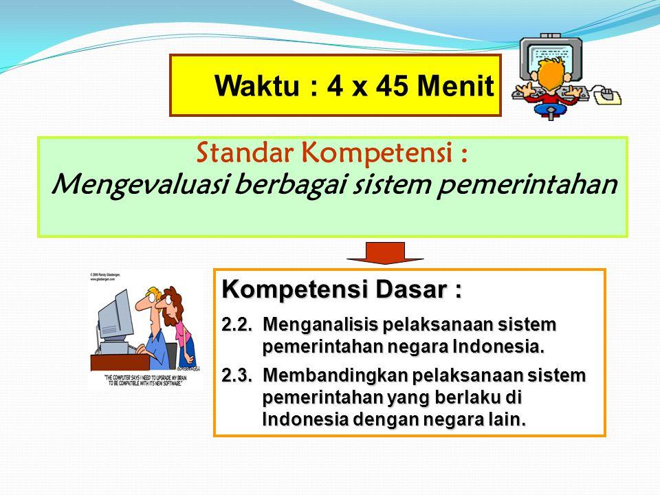Penugasan Praktik Kewarganegaraan 3 Setelah mempelajari materi-materi tentang : Sistem pemerintahan Negara Amerika Serikat, Inggris dan Republik Rakya