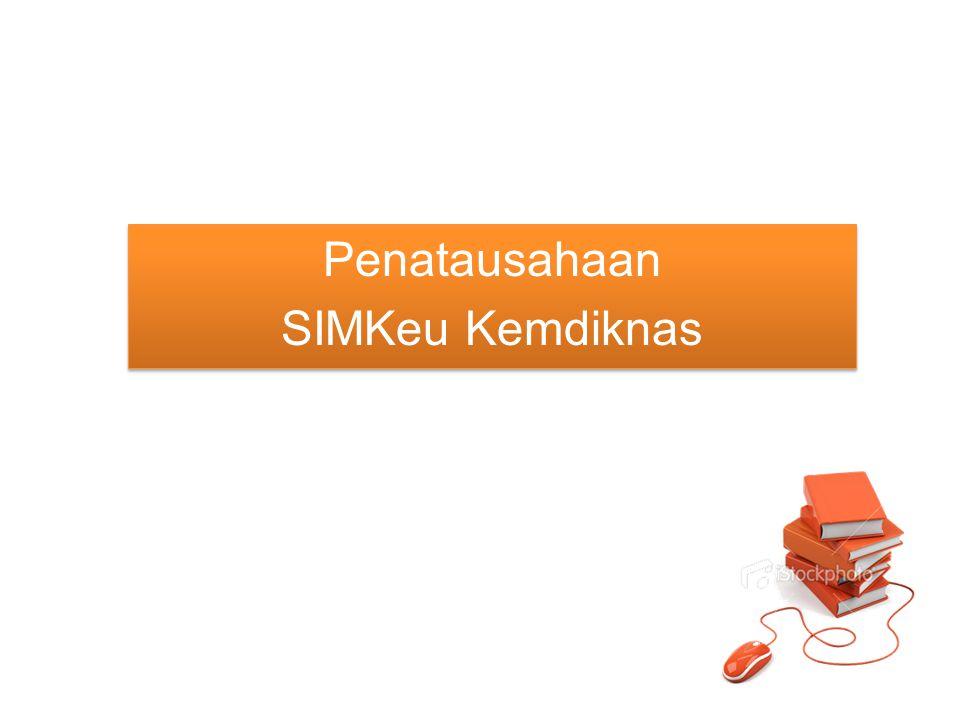 Akses SIMKeu Apabila Petugas SAI belum mempunyai Identitas dan Kata Sandi, tetapi sudah ditetapkan dalam SK Mendiknas maka perlu mendaftar sebagai pengguna