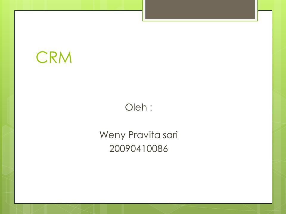 CRM CRM ( Customer Relationship Management).