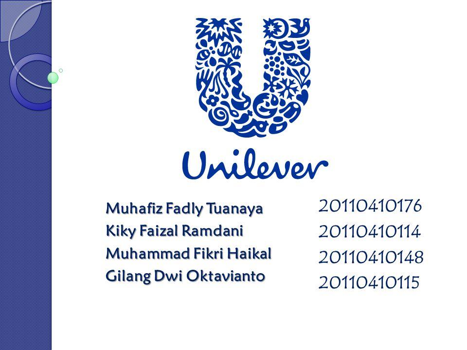 Latar Belakang Unilever adalah perusahaan manufaktur global bernilai 54 Milyar dollar dan pemasok barang-barang kehutuhan sehari-hari, diantaranya merek-merek seperti Q-Tips, Lipton, dan produk perawatan diri Dove.