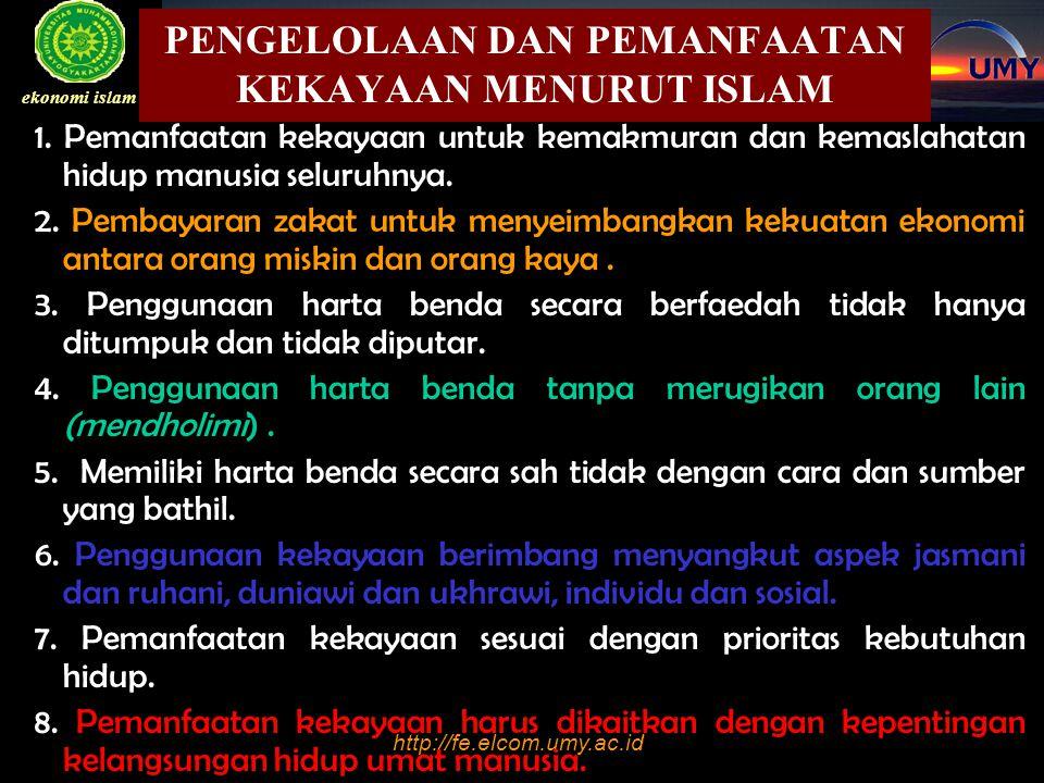http://fe.elcom.umy.ac.id BAB I PENDAHULUAN ekonomi islam Sebutkan struktur ekonomi masyarakat negara yang anda ketahui ( kerucut, belah ketupat piramida terbalik, tabung) Apa arti masing-masing Bagaimana struktur perekonomian yang menggambarkan Indonesia