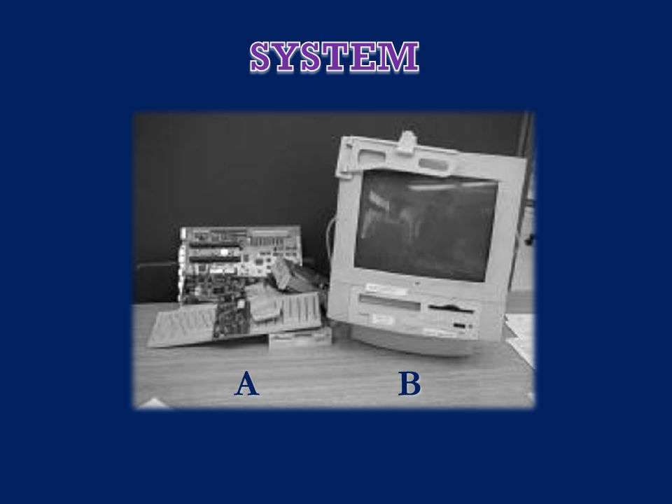SYSTEM OR NOT