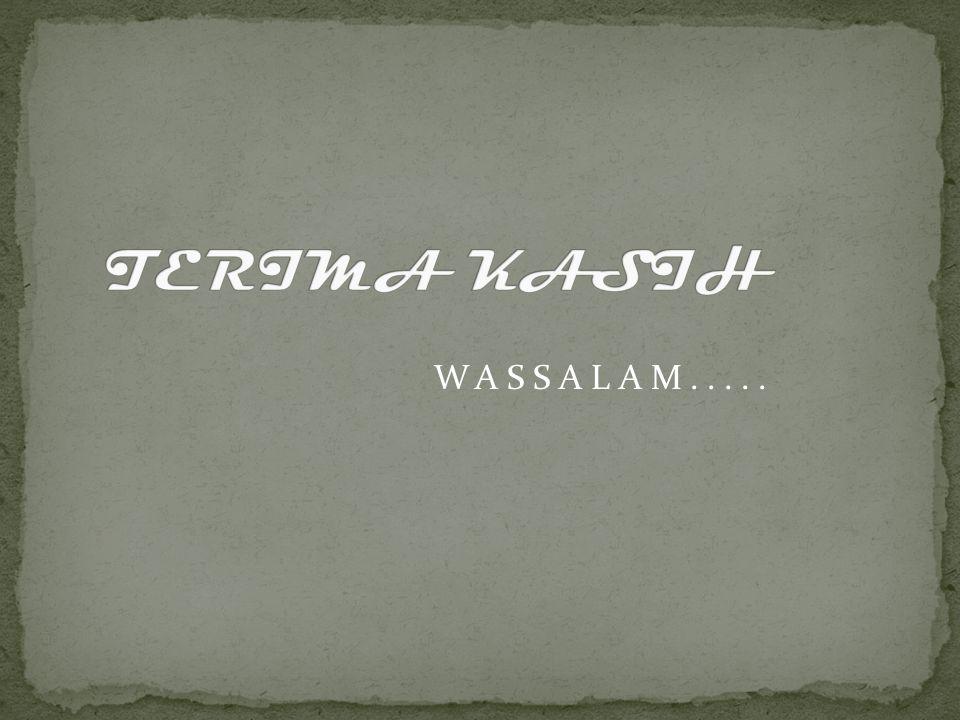WASSALAM.....