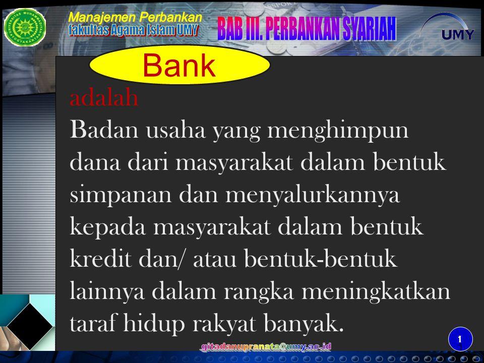 2 2 Kinerja keuangan Perbankan NoIndikatorTotal Bank (Konv + Sy) Perbankan Syariah Nominal % 1Total AssetRp1.353,19 T Rp18,23 T1,35 2PendanaanRp1.015,99 T Rp13,62 T1,34 3PembiayaanRp642,53 T Rp14,77 T2,30 4 LDR/ FDR63,24% 108,49 % 5NPL7,6% 4,15% SumberBank IndJawa Post24-11-05