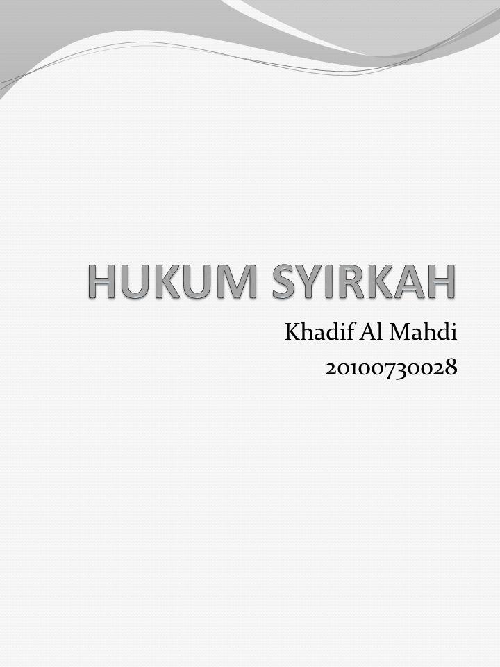 Khadif Al Mahdi 20100730028