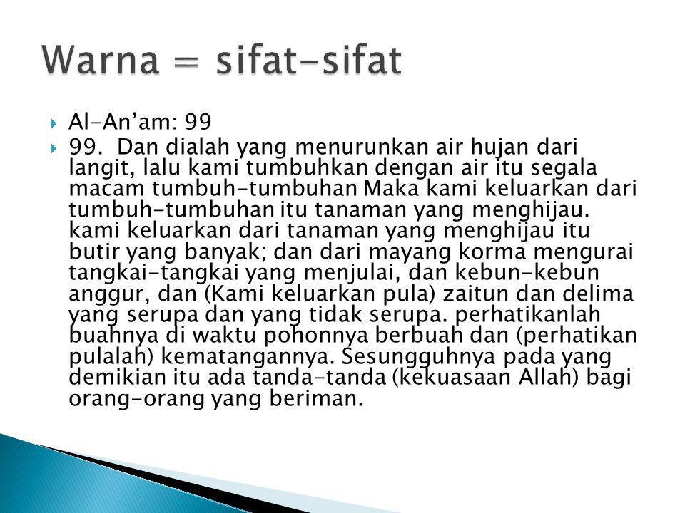  Al-An'am: 99  99.